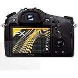 Sony DSC-RX10 Displayschutzfolie - 3er Set atFoliX FX-Antireflex blendfreie Folie Schutzfolie