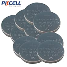 CR1632 3V Coin Lithium Batteries for Watches Calculators , Car Remote Controls and Toys (10)
