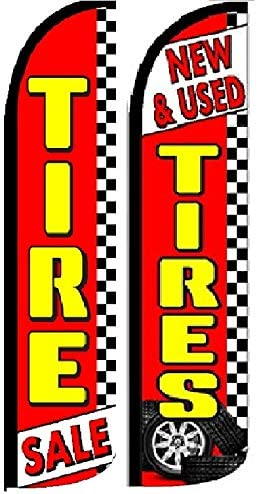 Brakes Yellow// White With Checkered Windless Banner Advertising Marketing Flag