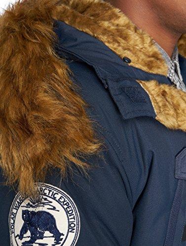 para Polar Parka Alpha Jacket Azul Hombre q7Zp6pw