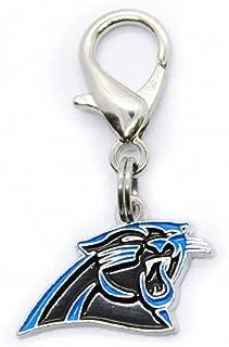 product image for Diva-Dog NFL Football 'Carolina Panthers' Licensed Team Dog Collar Charm