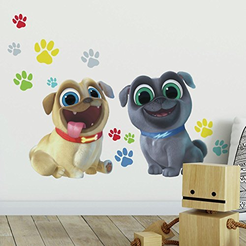 puppy dog pals decal