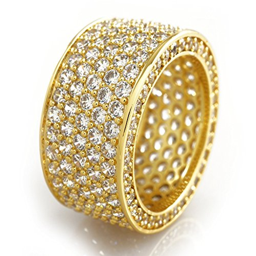 18 Ct Gold Eternity Rings - 8