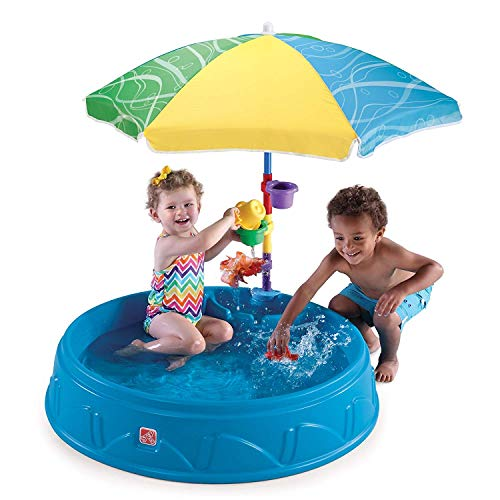 Play & Shade Pool (Deluxe Pack - Includes Umbrella & Accessories)