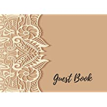 Guest Book: Wedding Guest Sign, For Over 200 Guests. Suitable For Wedding & Other Uses.  Free Layout To Use as you wish for Names & Addresses, or Advice, Wishes, Comments or Predictions