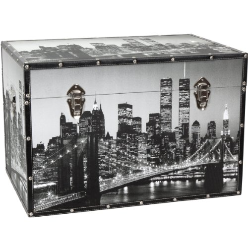Oriental Furniture New York Scenes Trunk by ORIENTAL FURNITURE