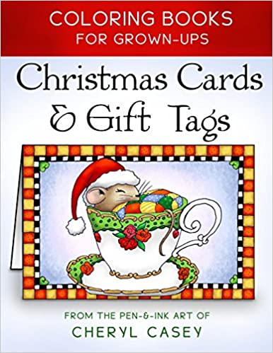 Amazon Christmas Cards Gift Tags Coloring Books For Grownups Adults Wingfeather Volume 3 9781518684364 Cheryl Casey