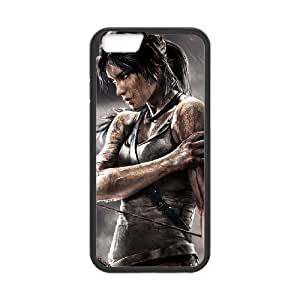 """FLYBAI Rise Of The Tomb Raider Lara Croft Phone Case For iPhone 6 Plus (5.5"""") [Pattern-2]"""