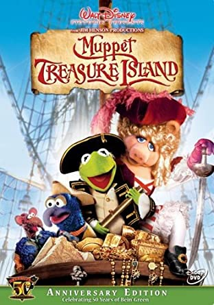 Image result for DVD Muppet treasure Island