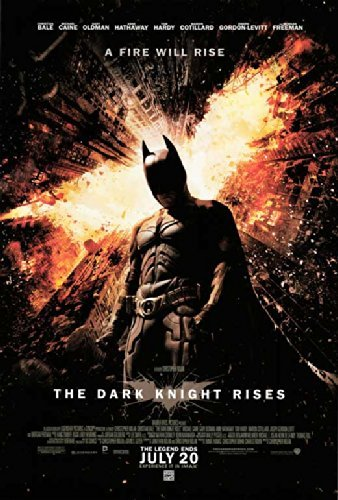 THE DARK KNIGHT RISES POSTER Movie (27 x 40 Inches - 69cm x 102cm) (2012) (Style G) ()