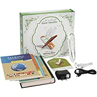 Digital Holy Quran Pen, Anlising Exclusive Word-by-Word Function for Kid and Arabic Learner Downloading Many Reciters and Languages Digital Quran Talking Pen 5 Small Books Color Box Ramadan Gift