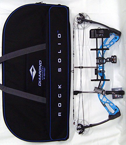 - Diamond Edge SB-1 Compound Bow, Blue Blaze, RAK Package, Right Hand, 7-70lbs, with Diamond Soft Bow Case