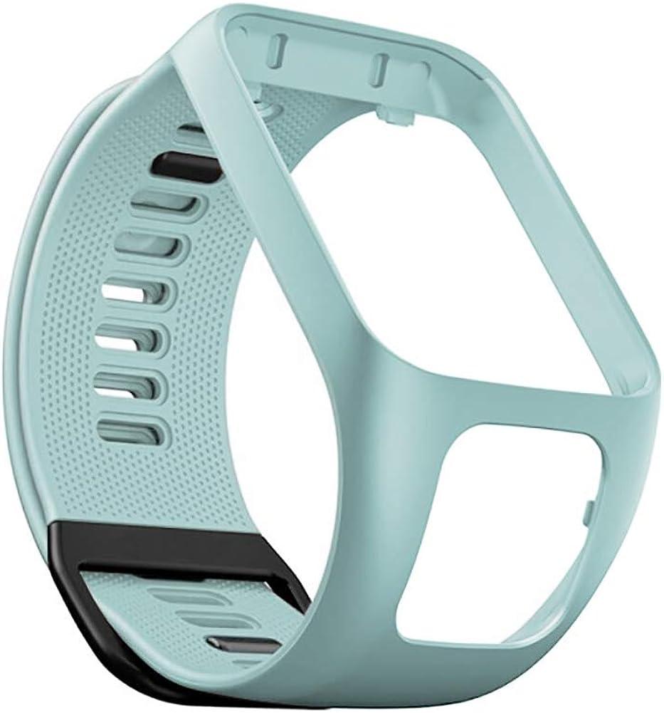 Compatible avec Les Bracelets de Montres Tomtom Spark 3 Golfer 2 Bandes de Montre Spark 3 Adventurer Bracelets de Montre en Silicone pour Montres Tomtom Runner 2 3