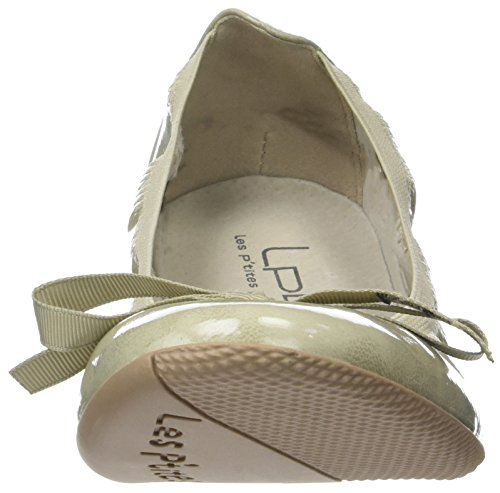 V P'tites Ballet Women's Gris Bombes Grey Ella Flats Les Closed Toe dISqZHqaw