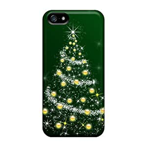 For Iphone Cases, High Quality Christmas Tree Hd For Iphone 5/5s Covers Cases