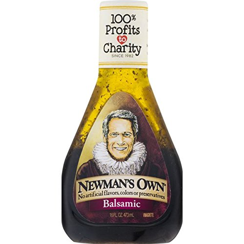 Newman's Own Salad Dressing, Balsamic Vinagrette, 16 Ounce (Vinaigrette Balsamic Dressing)