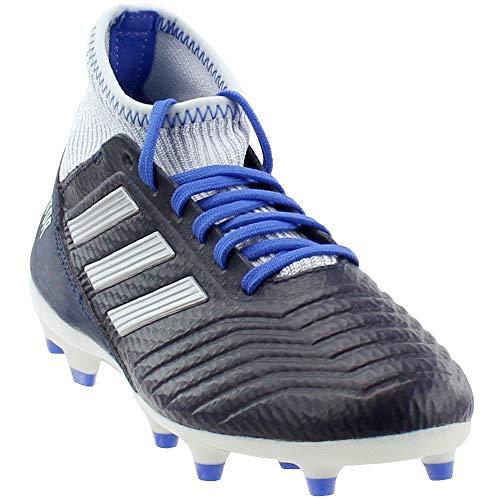 adidas Women's Predator 18.3 Firm Ground Soccer Shoe, Legend Ink/Silver Metallic/aero Blue, 9.5 M US
