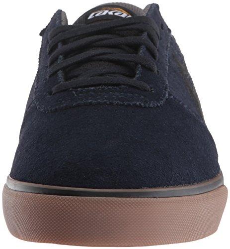 Lakai Heren Manchester Skateboarden Schoen Navy / Gum Suede