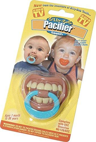Billy Bob Teethe Thumb Sucker Pacifier (Grill Pacifier)