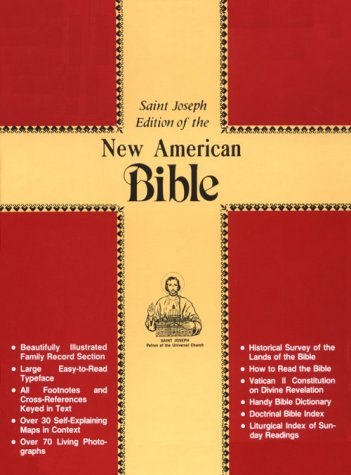 Saint Joseph Edition of the New American Bible No. 611/10R