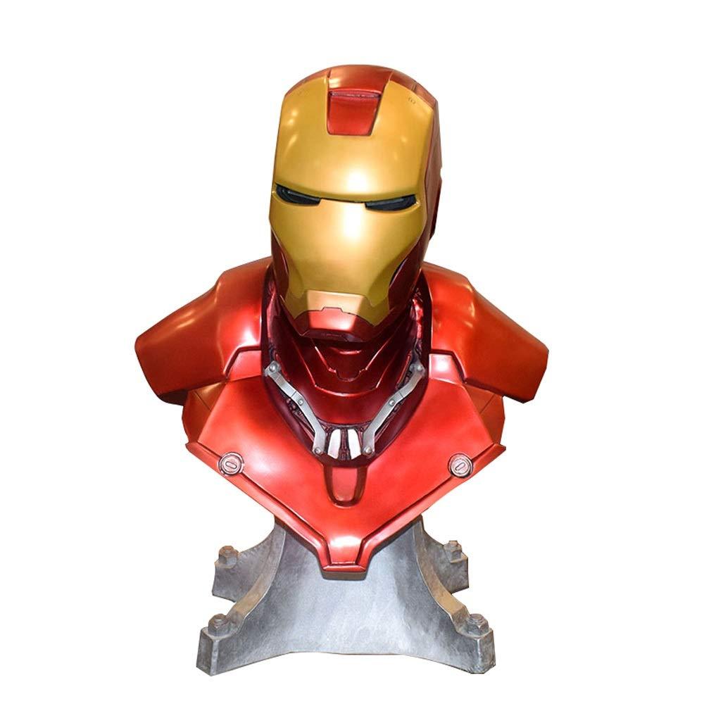 YIDIAN おもちゃ アベンジャーズMK3アイアンマン1:1ハーフレングスモデルバストスタチュー手作り工芸品 /& B07SCWK72J