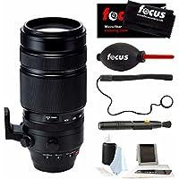 Fujifilm XF 100-400mm f/4.5-5.6 R LM OIS WR Lens (BLack) + Focus Accessory Kit