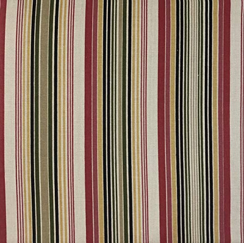 Wing Stripes Slipcover - Harmony Slipcovers (Rose Stripe, WingBack Chair - (Fits up to 30
