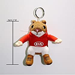 Kia Hoody Hamster Stuffed Plush Key Chain