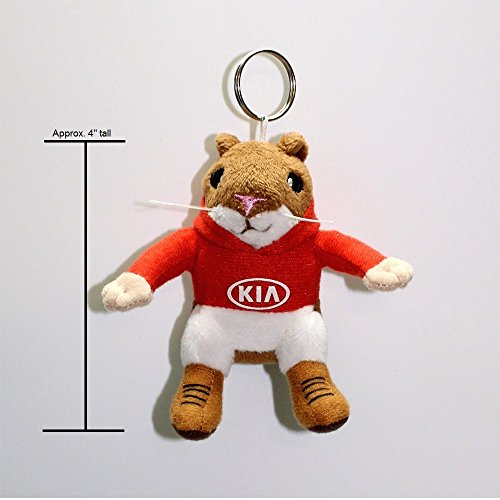Kia Hoody Hamster Stuffed Plush Key Chain