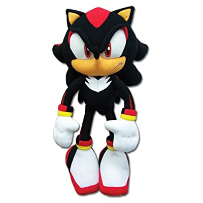 "Sonic The Hedgehog New_8967 Great Eastern GE-8967 - Shadow Plush, 12"", Multicolor: Toys & Games"