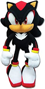 """Sonic The Hedgehog New_8967 Great Eastern GE-8967 - Shadow Plush, 12"""", Multicolor"""