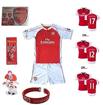 1d44010b9 Amazon.com   iSport Gifts® Arsenal Home Ozil  10   Giroud  12 ...