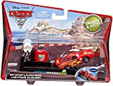 Cars 2 Pit Stop Launchers Lightning McQueen