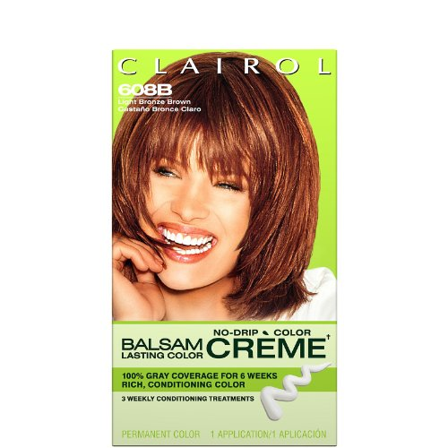 Clairol Balsam Lasting Color Creme Hair Color-Light Bronz...