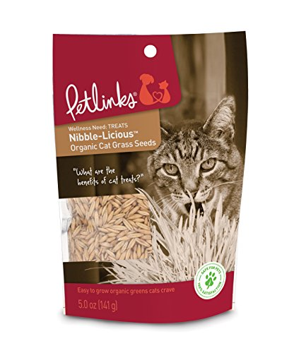 Petlinks Nibble-Licious Cat Grass Seeds 5 oz from Petlinks