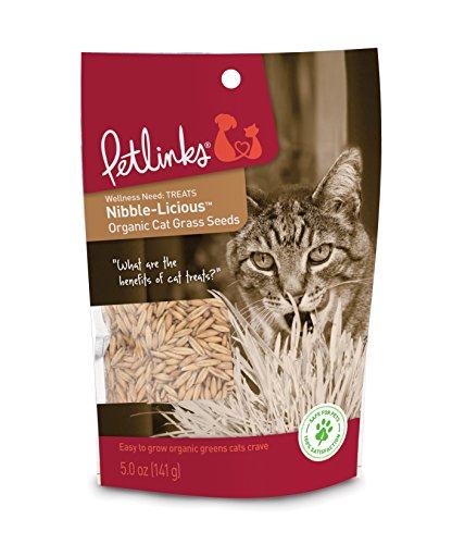 Petlinks Nibble-Licious Cat Grass Seeds 5 oz from Petlinks