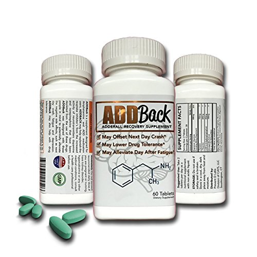 ADDBack Adderall Recovery Supplement -
