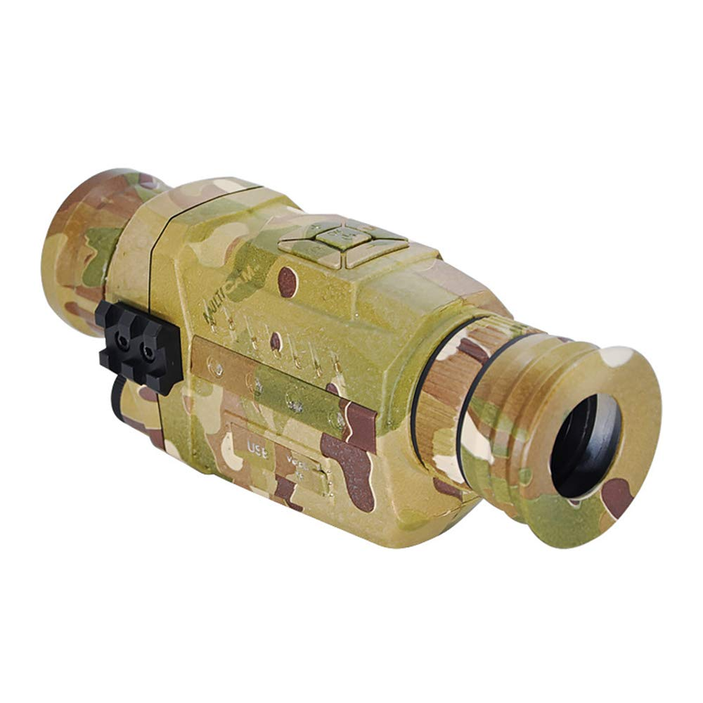 AUNLPB Digital Night Vision Infrared Monocular, Night Vision Device 5x35 High Magnification Adult Portable Night Vision Telescope Can Take Day or Night by AUNLPB
