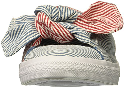 aegean Aegean Donna 442 Red Sneaker Ctas Storm Slip Storm On Converse white Multicolore Knot gym white 1t8nwpv