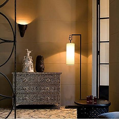 Moderna orientale lampada da terra di ferro per luminoso ...