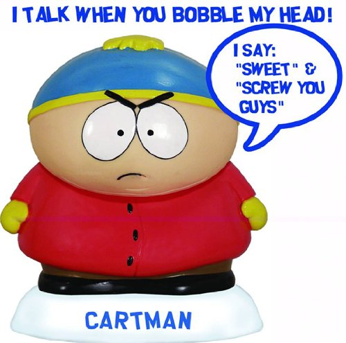 Funko South Park Cartman - Wobbler de Wacky: Amazon.es: Juguetes y juegos