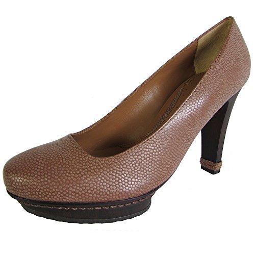 Azria Clay Shoe BCBG Platform Pump Max Pebble Leather Womens Elsa qU00d8