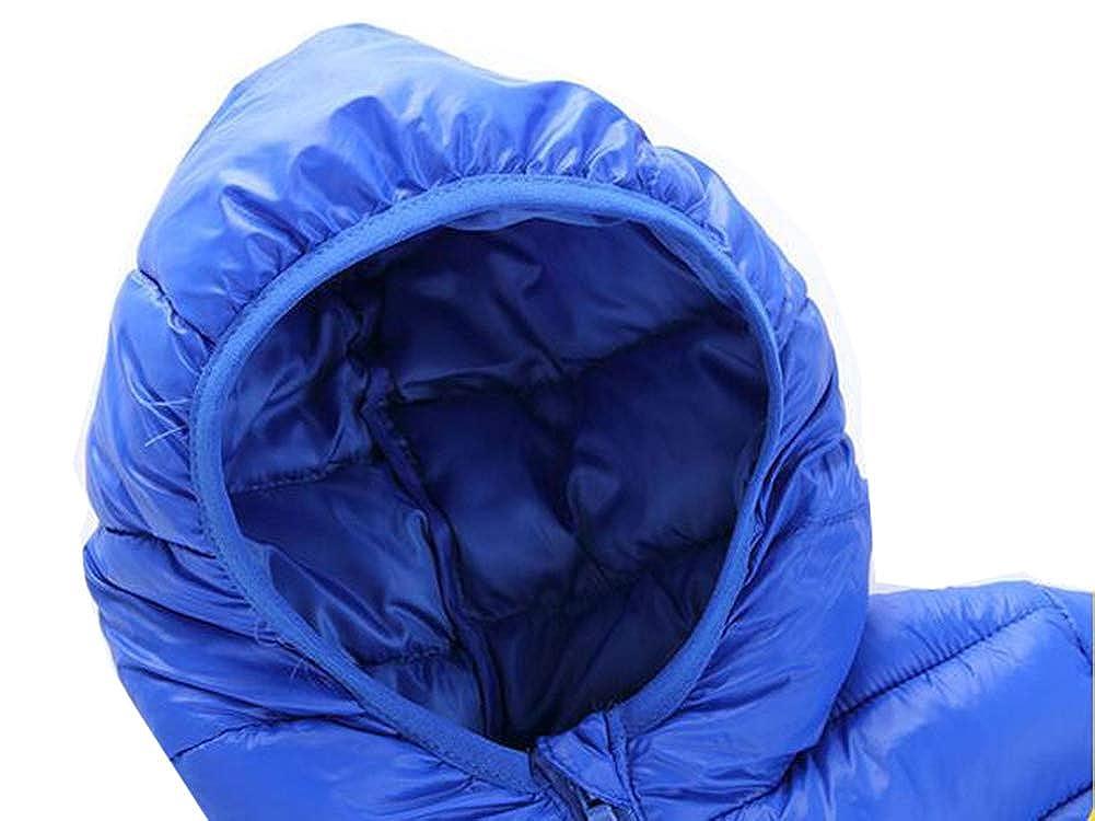 TAIYCYXGAN Little//Big Girls Boys Lightweight Down Hoodie Jacket Winter Zip Up Outwear Jacket Warm Coat