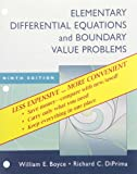 Elementary Differential Equations and Boundary Value Problems, Ninth Edition Binder Ready Version with Binder Set, Boyce and Boyce, William E., 0470404205