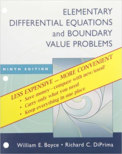 Elementary differential equations and boundary value problems ninth elementary differential equations and boundary value problems ninth edition binder ready version with binder set william e boyce 9780470404201 fandeluxe Images