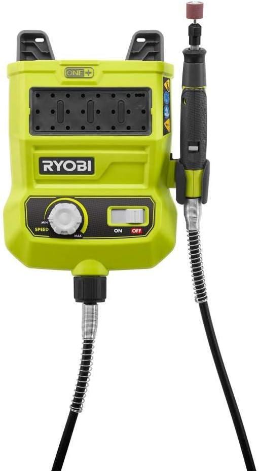 Bulk Packaged Ryobi One Plus 18 Volt Variable Speed Rotary Tool P460 Renewed