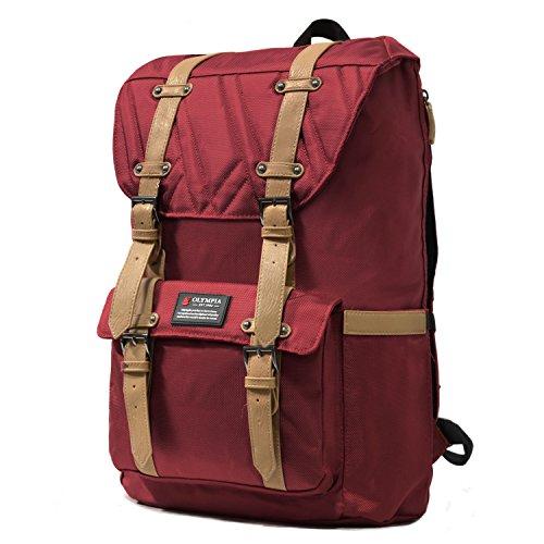 - Olympia Hopkins 18-inch Backpack Si, Wine