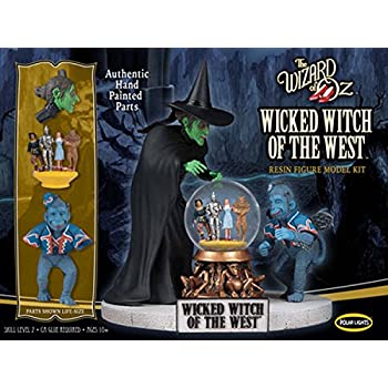 Polar Lights | The Wizard of Oz Wicked Witch of the West Resin | 1:8 Scale  Figure Model Kit | Pre-Painted!