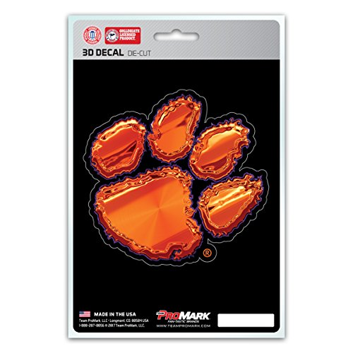 Team ProMark NCAA Clemson Tigers 3-D Decal