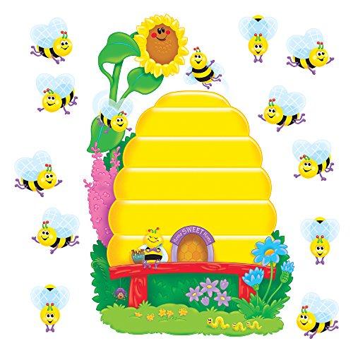 (TREND enterprises, Inc. T-8077 Busy Bees Job Chart Plus Bulletin Board Set )